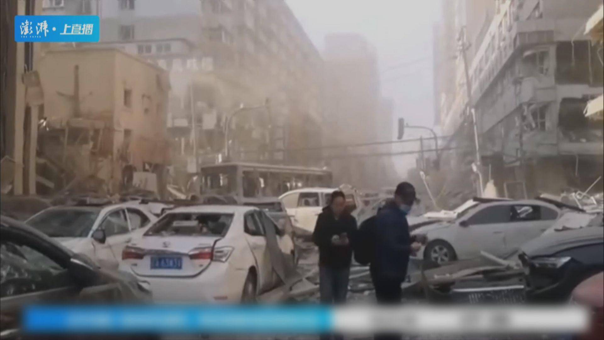 遼寧瀋陽有餐廳懷疑燃氣爆炸 至少3死逾30傷