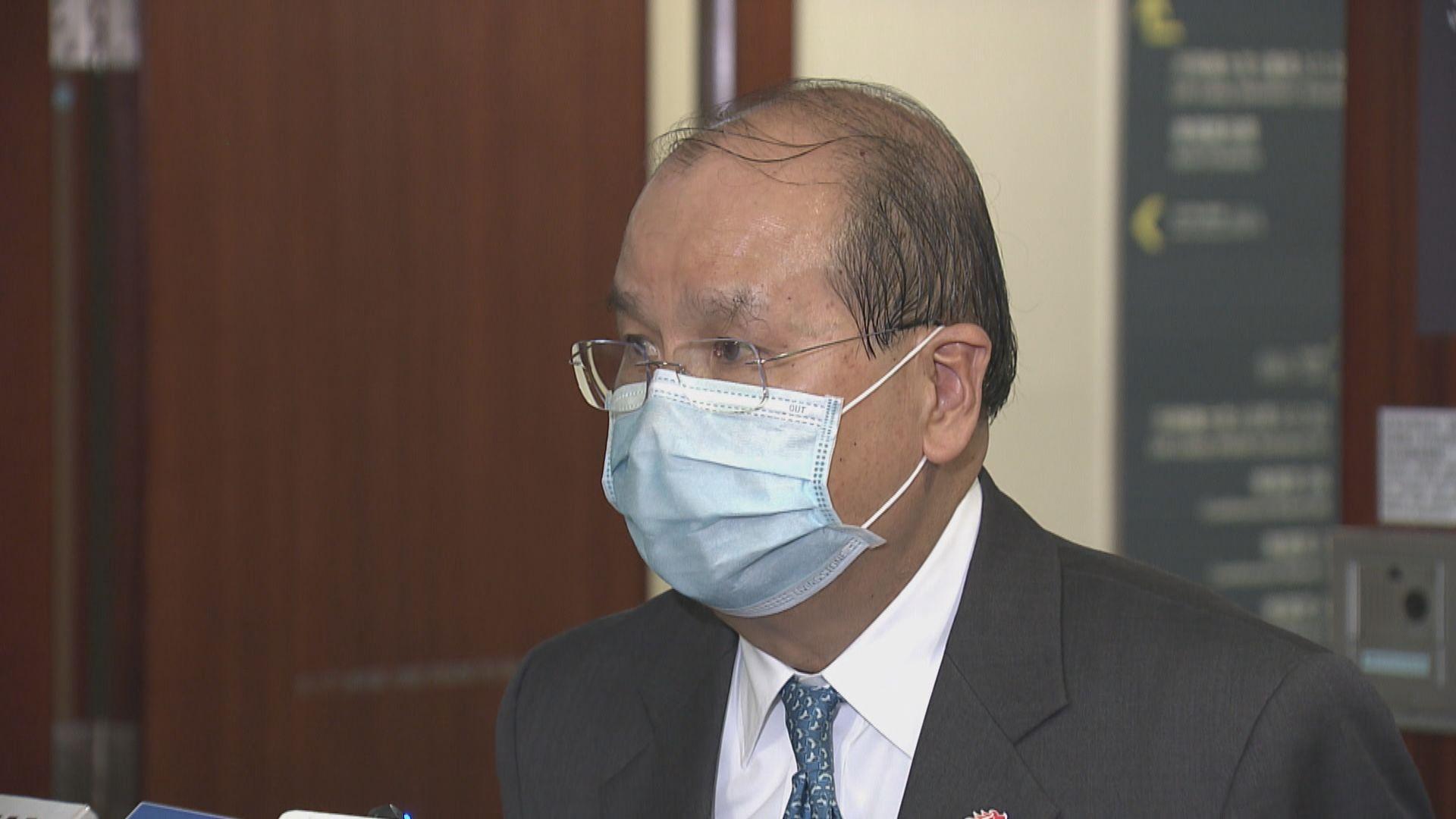 張建宗︰兩辦職能是關心香港運作