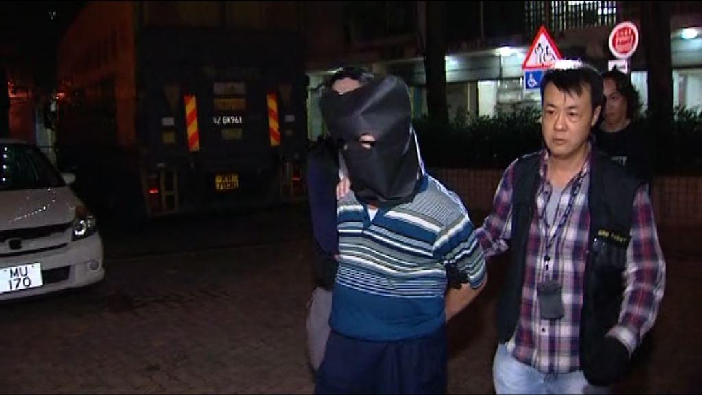 男子涉非法放債逾300萬元被捕