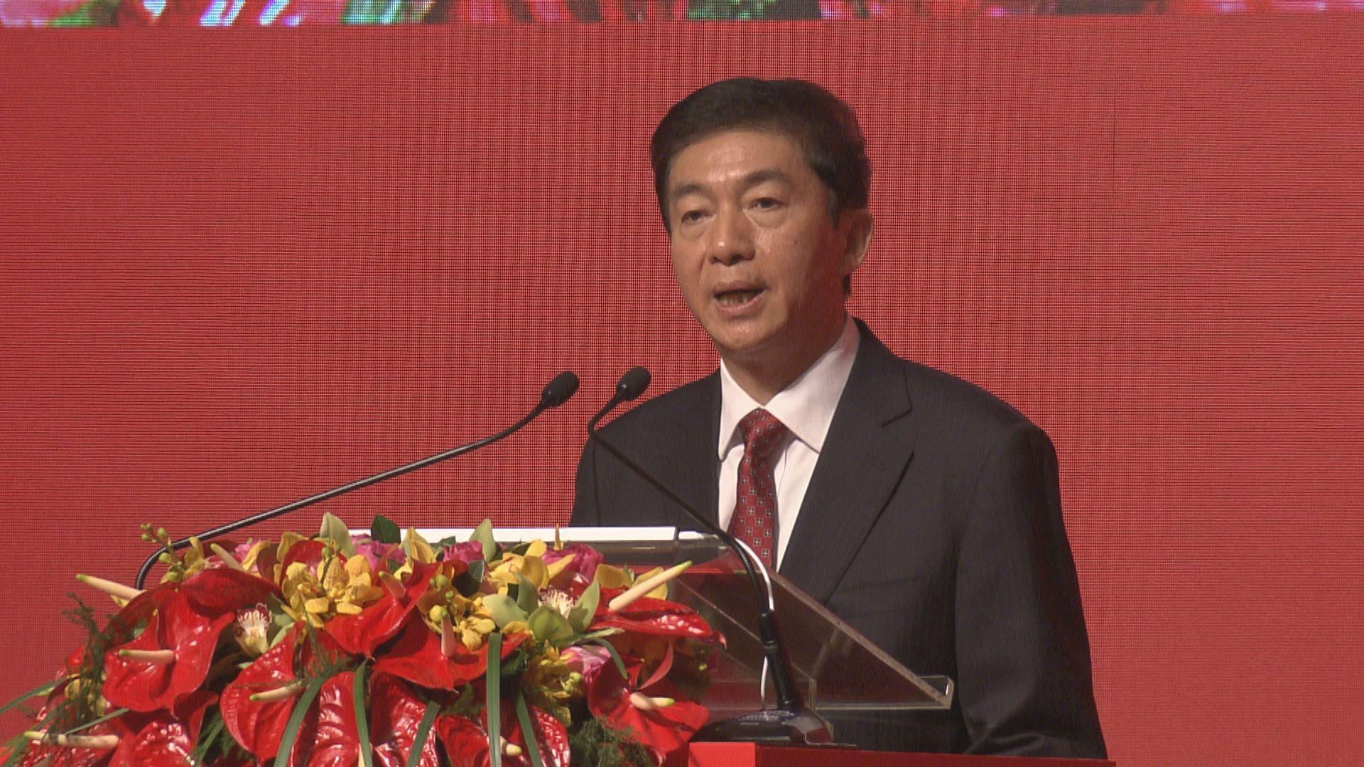 駱惠寧:特區要建立維護國家安全法律制度