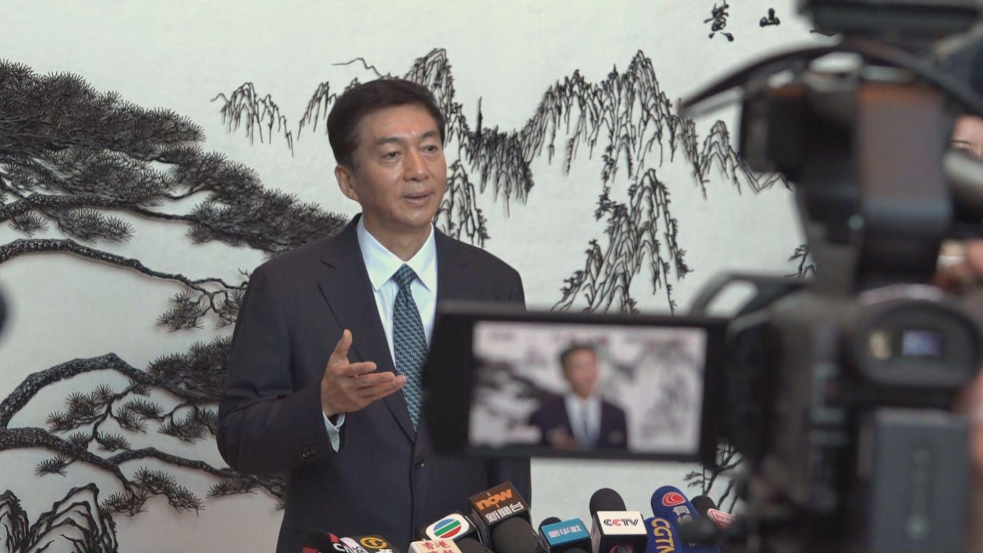 新任中聯辦主任駱惠寧︰各界期盼香港重回正軌