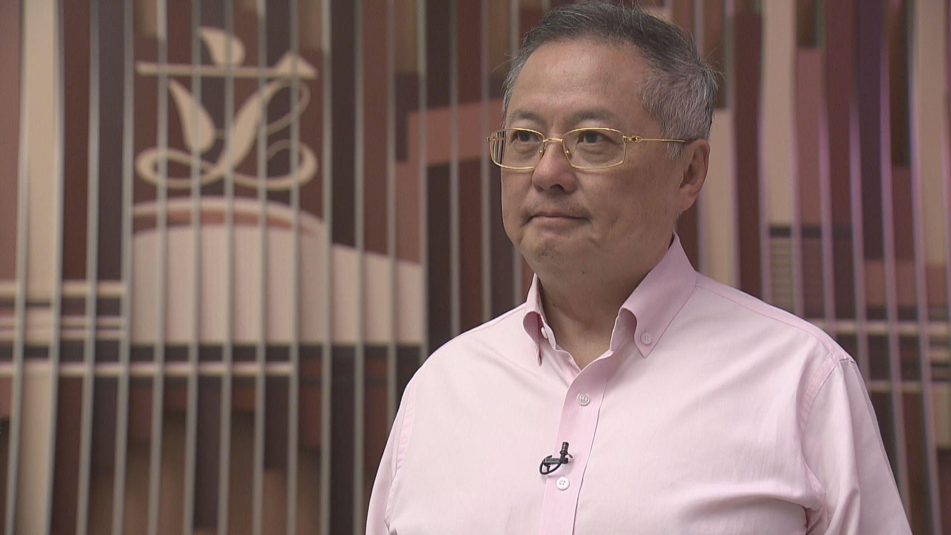 張宇人:田北俊要求他辭任行會不合理