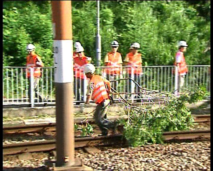 輕鐵六條綫一度受阻現已恢復正常