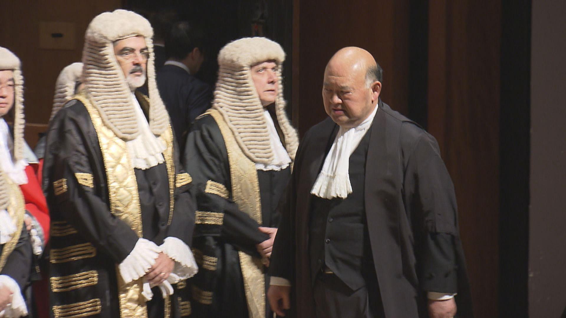 曾說國安法指定法官安排奇怪 馬道立:僅引述社會關注