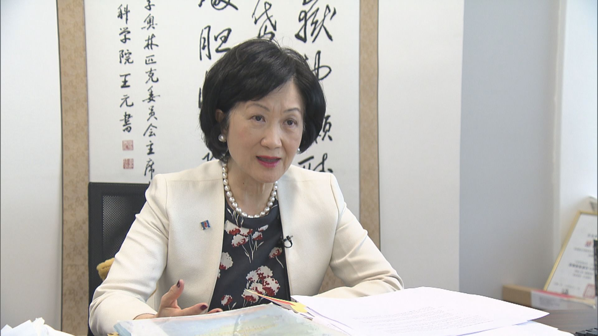 葉劉淑儀:馬凱簽證不獲續期做法合情合理