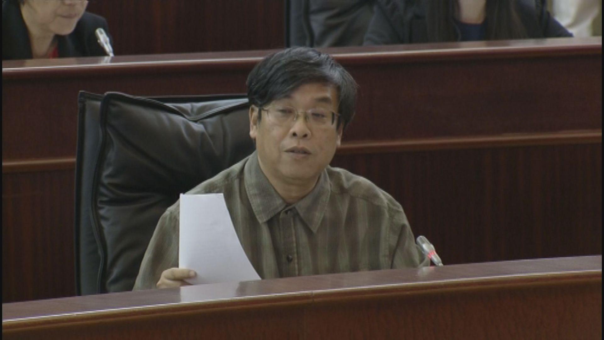 澳門立會選舉多人被裁不具參選資格 吳國昌:香港局勢令當局作今次決定