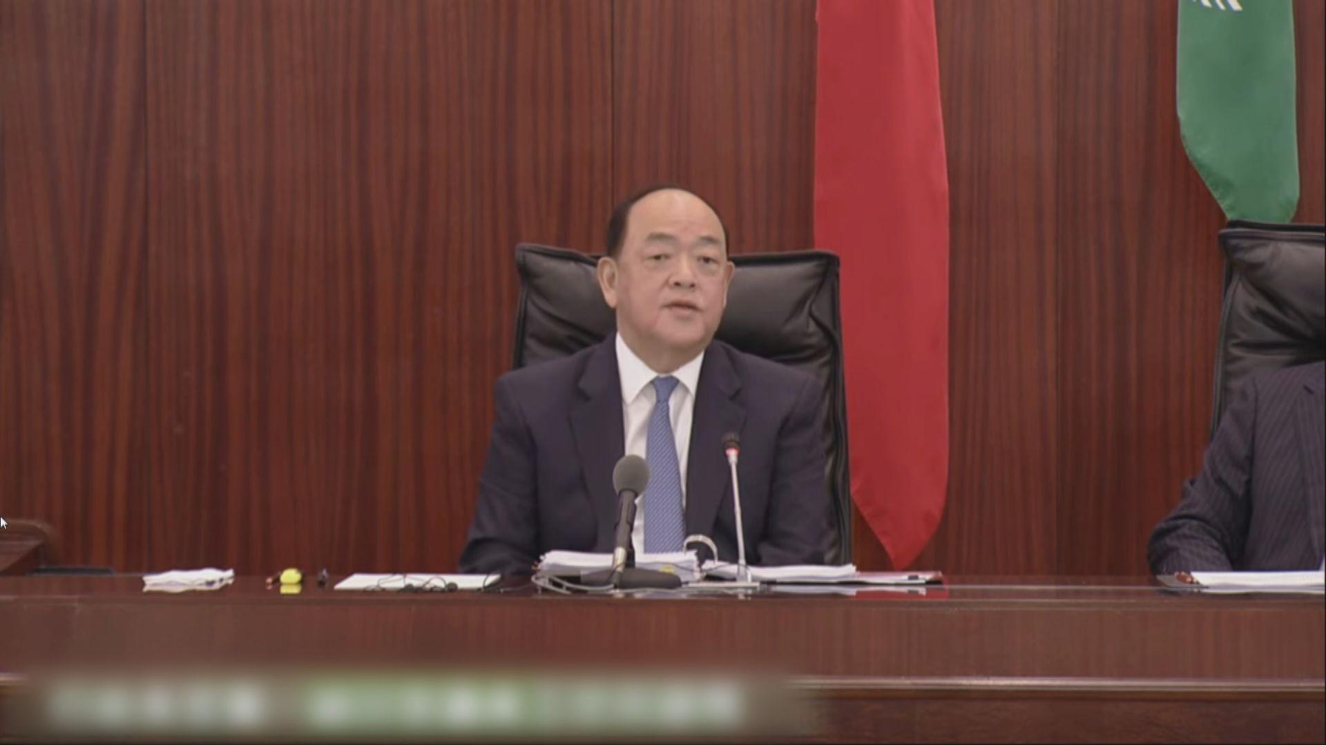 賀一誠:如香港連續十四日零確診 可以恢復正常往來