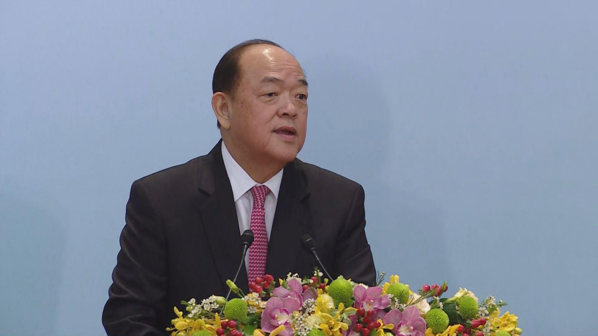 賀一誠︰香港反修例風波影響澳門旅遊業