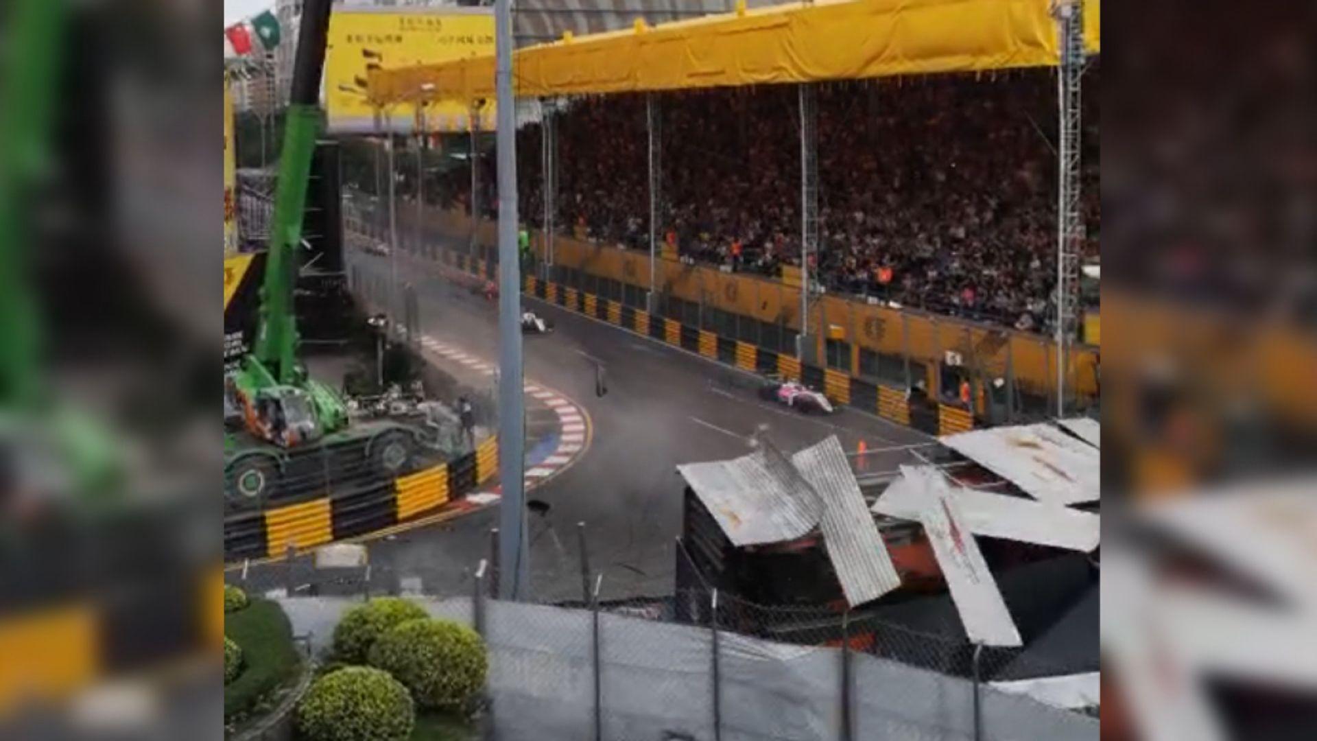 澳門賽車意外 攝影師指事發時賽至第四圈