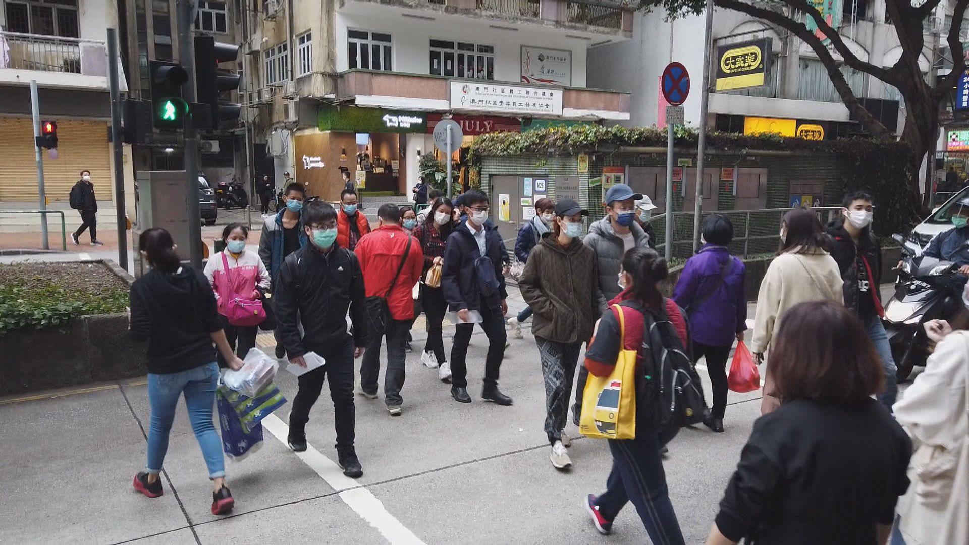 澳門宣布14日內到過南韓人士抵澳後須作醫學檢查