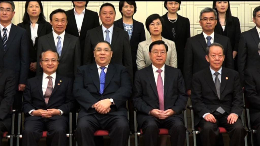 張德江到訪澳門 指一國兩制全面貫徹