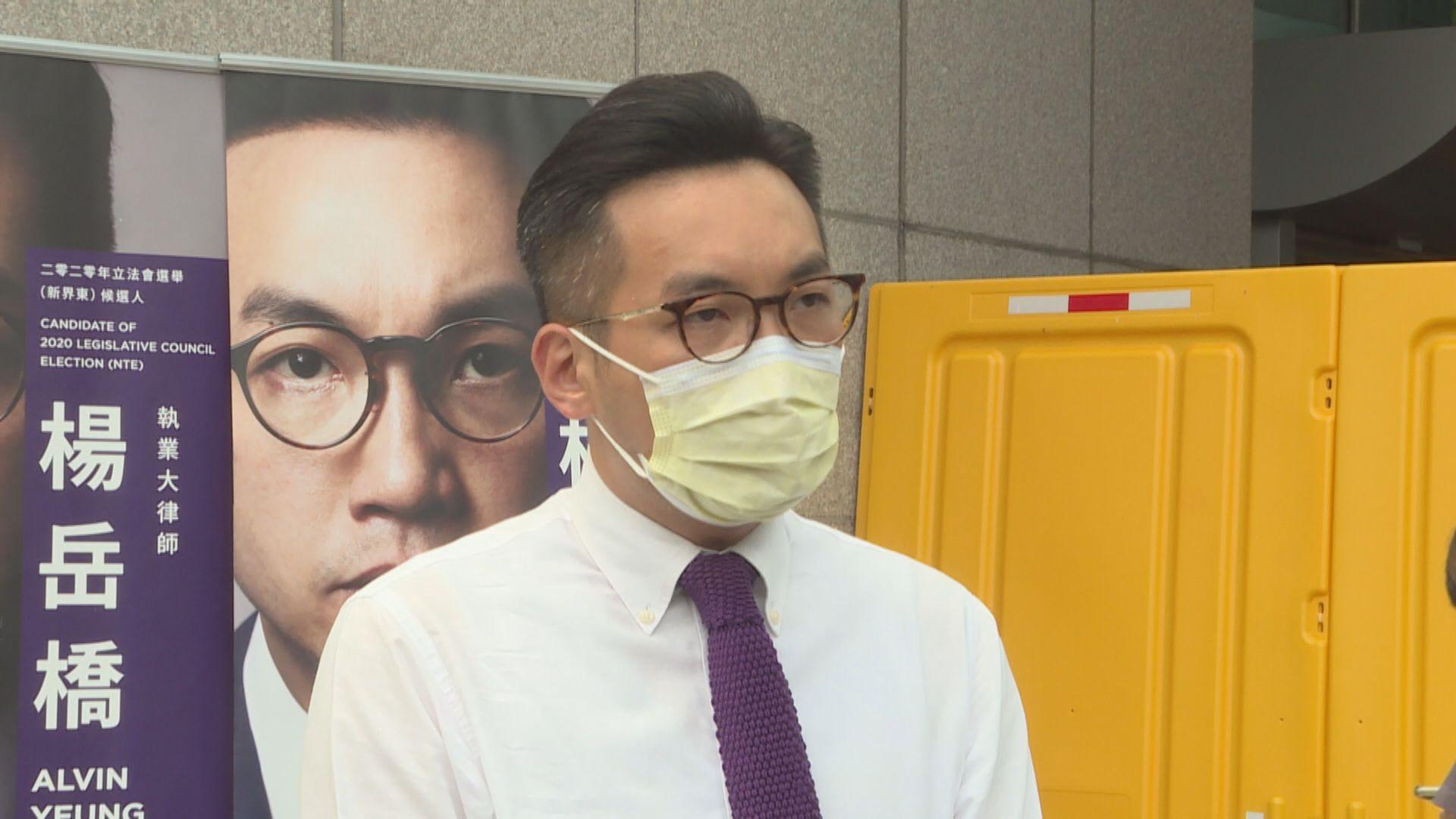楊岳橋︰被取消資格議員延任無矛盾