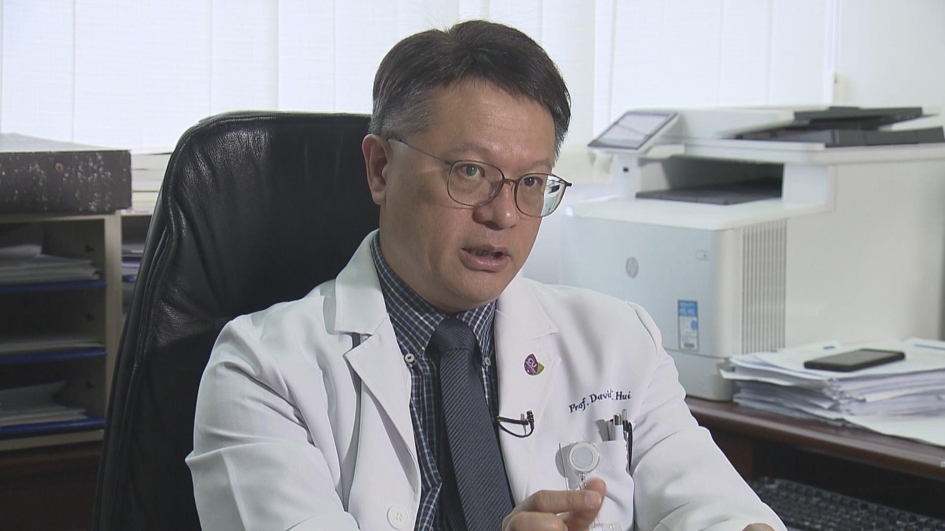 許樹昌:衞生署應為抵港高風險人士安排接受病毒測試