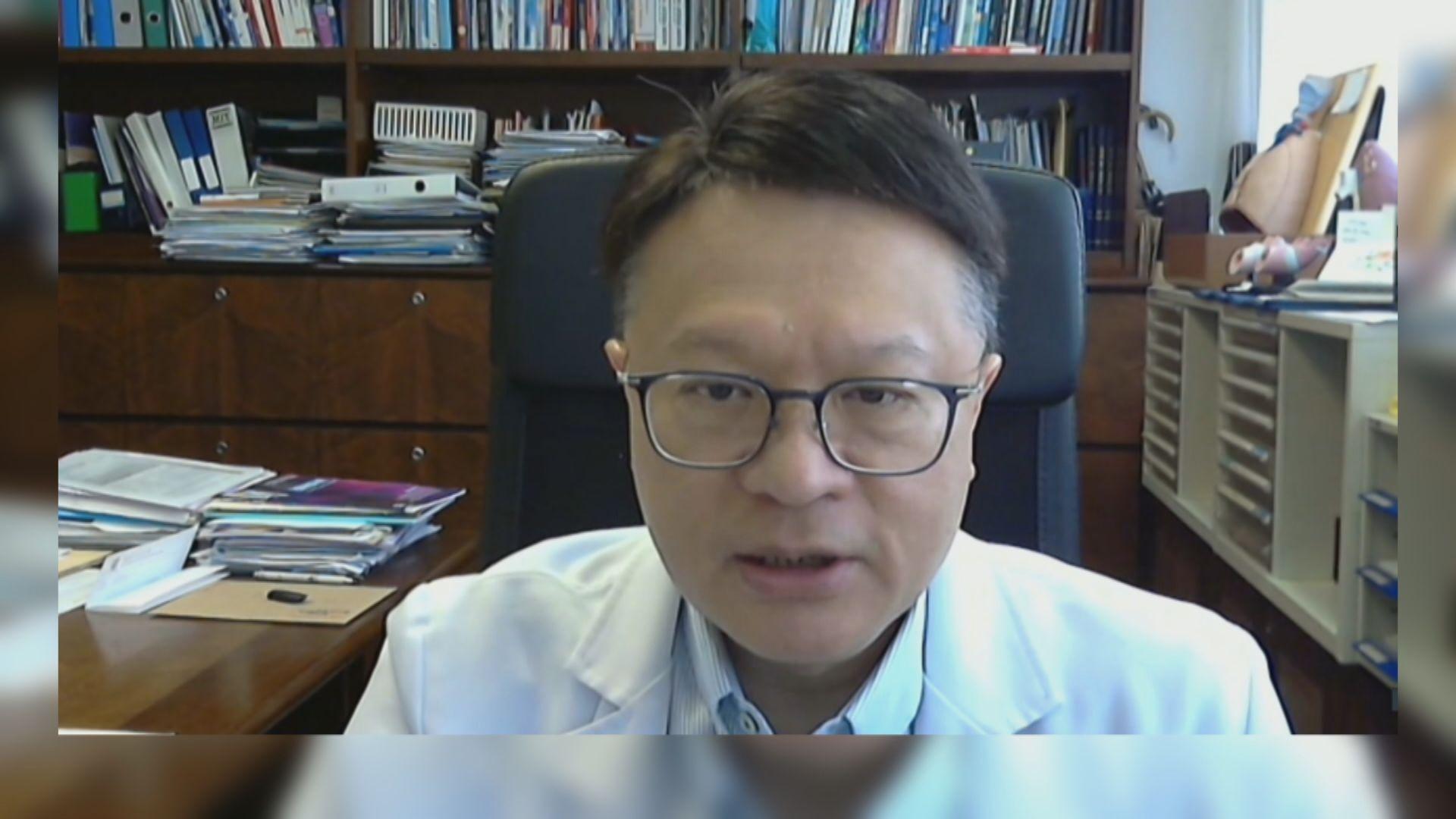 許樹昌:若再新增源頭不明個案 應考慮收緊防疫措施