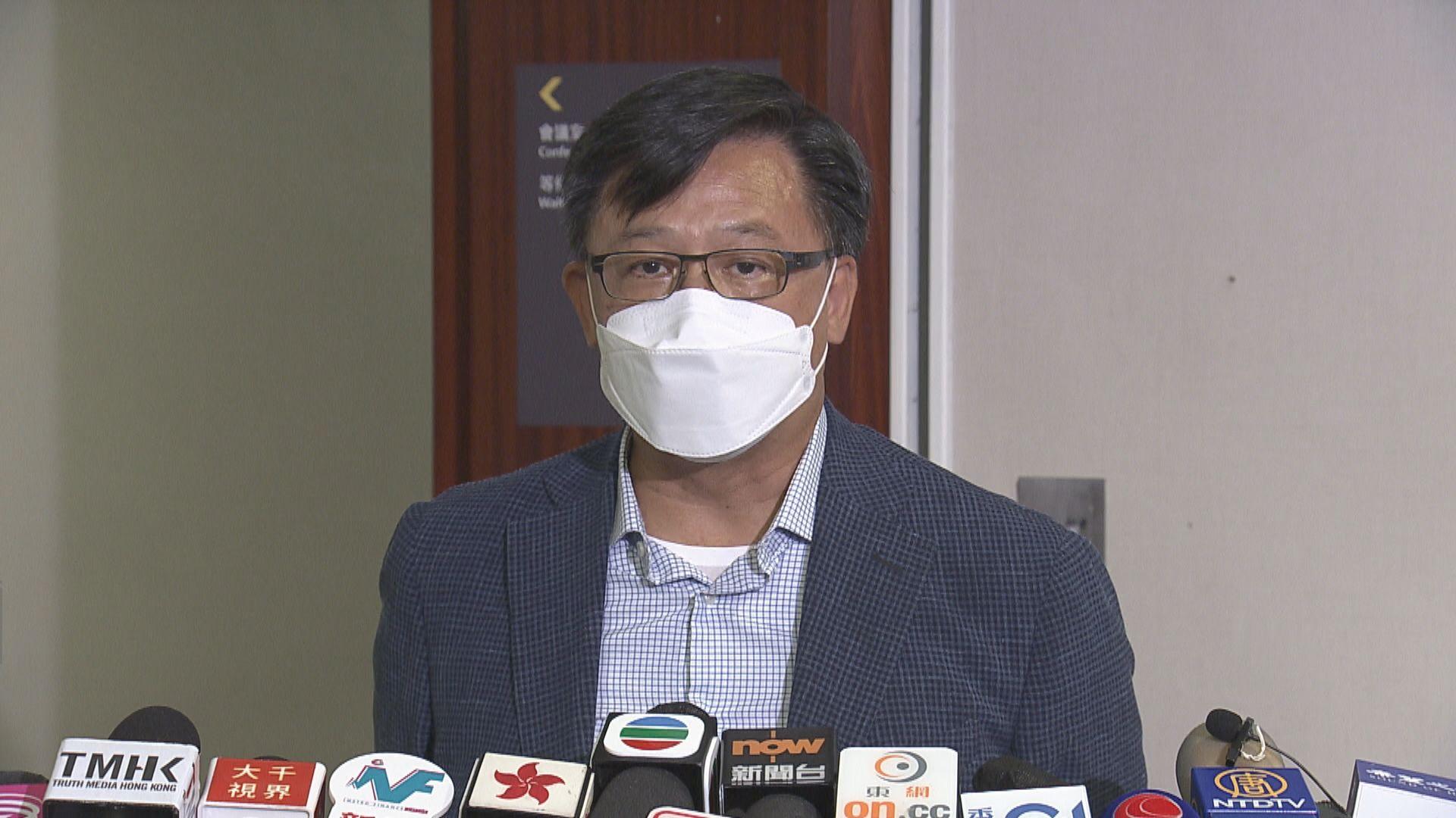 何君堯:查冊政策去年已收緊 新聞業界不應再以身試法