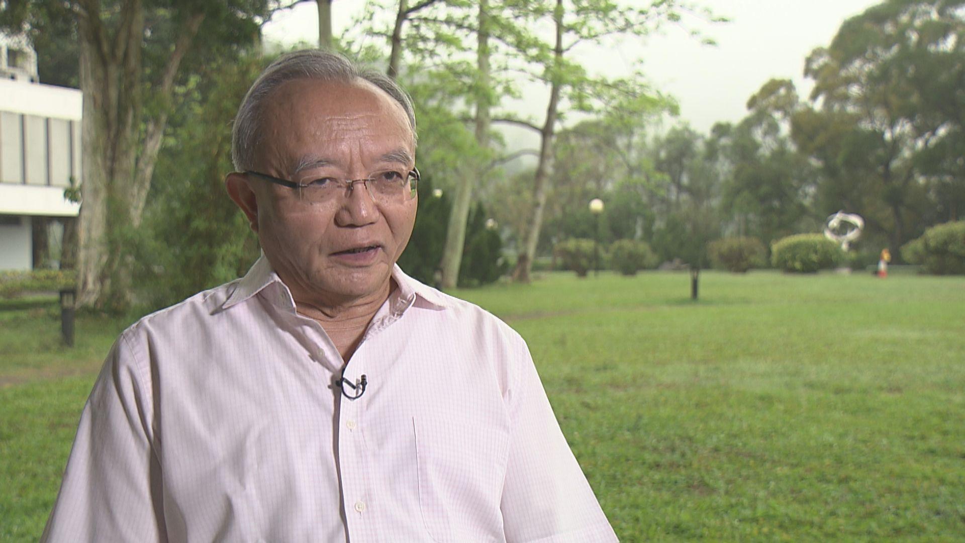劉兆佳:續任立法會避免臨時立法會的政治爭論