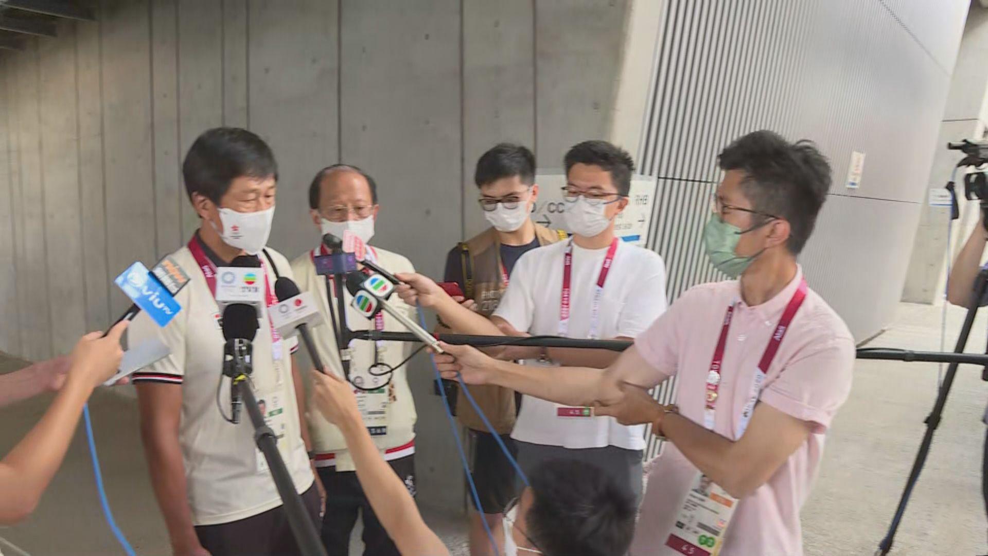 楊德強冀公眾放下球衣事件 全心全意支持運動員