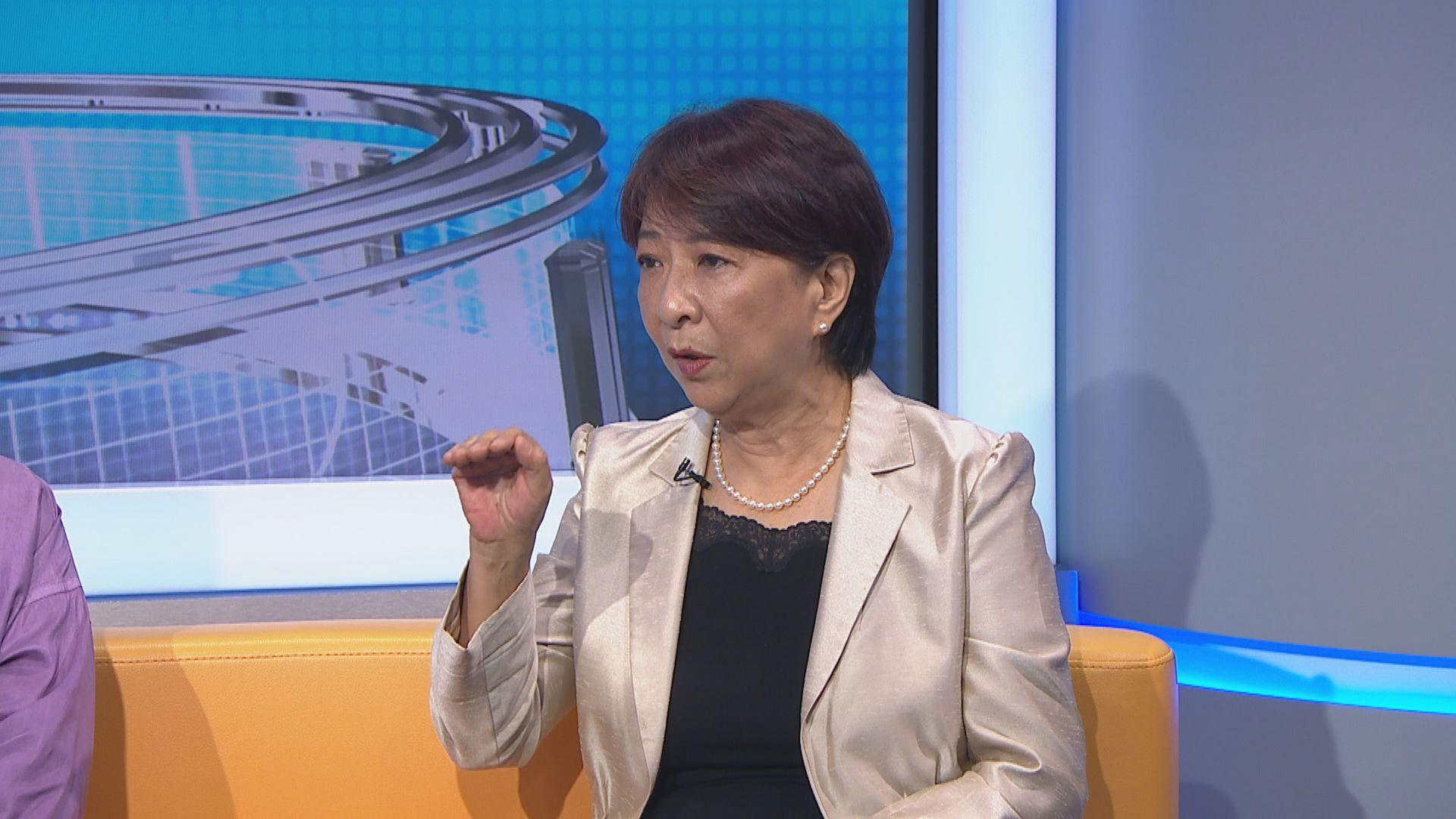 蔣麗芸:曾考慮倡設獨立委員會調查修例風波