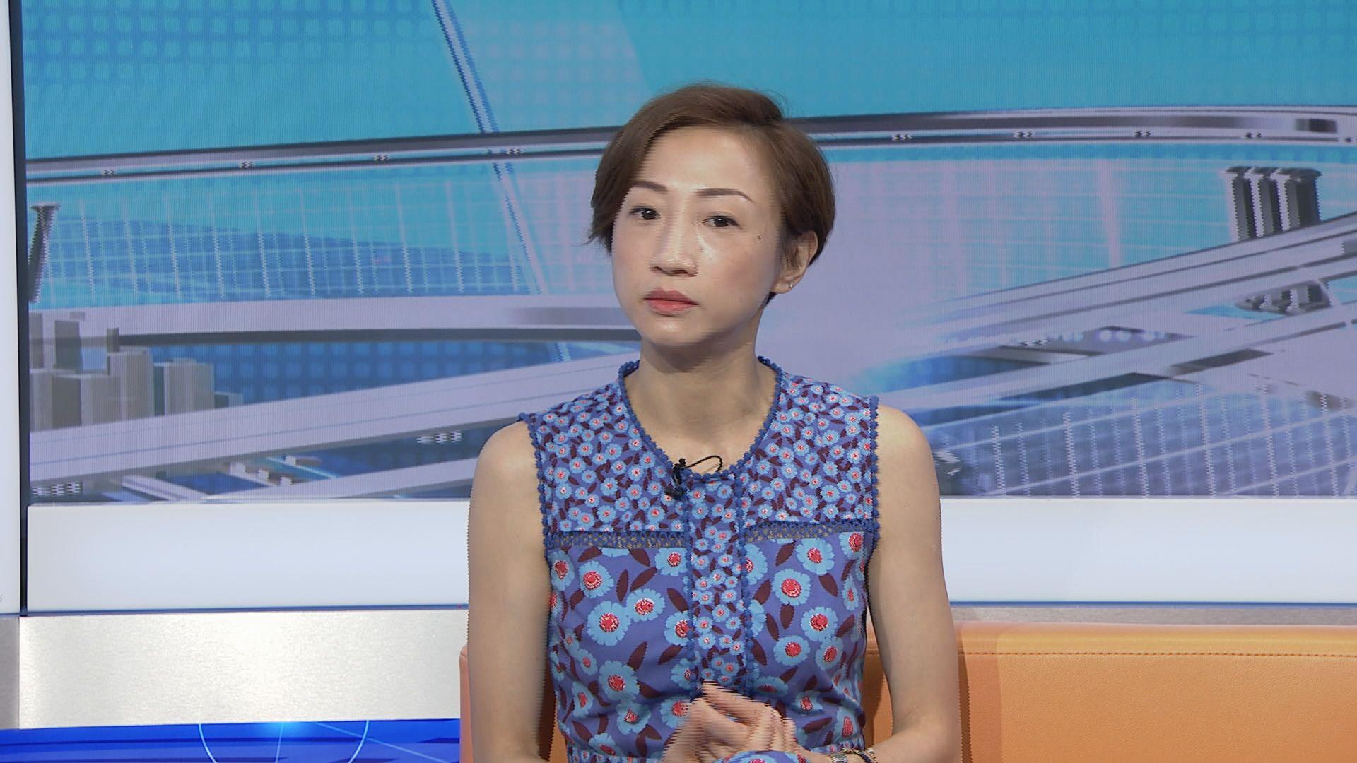 陳淑莊:政府需交代高鐵虧蝕是否由市民承擔
