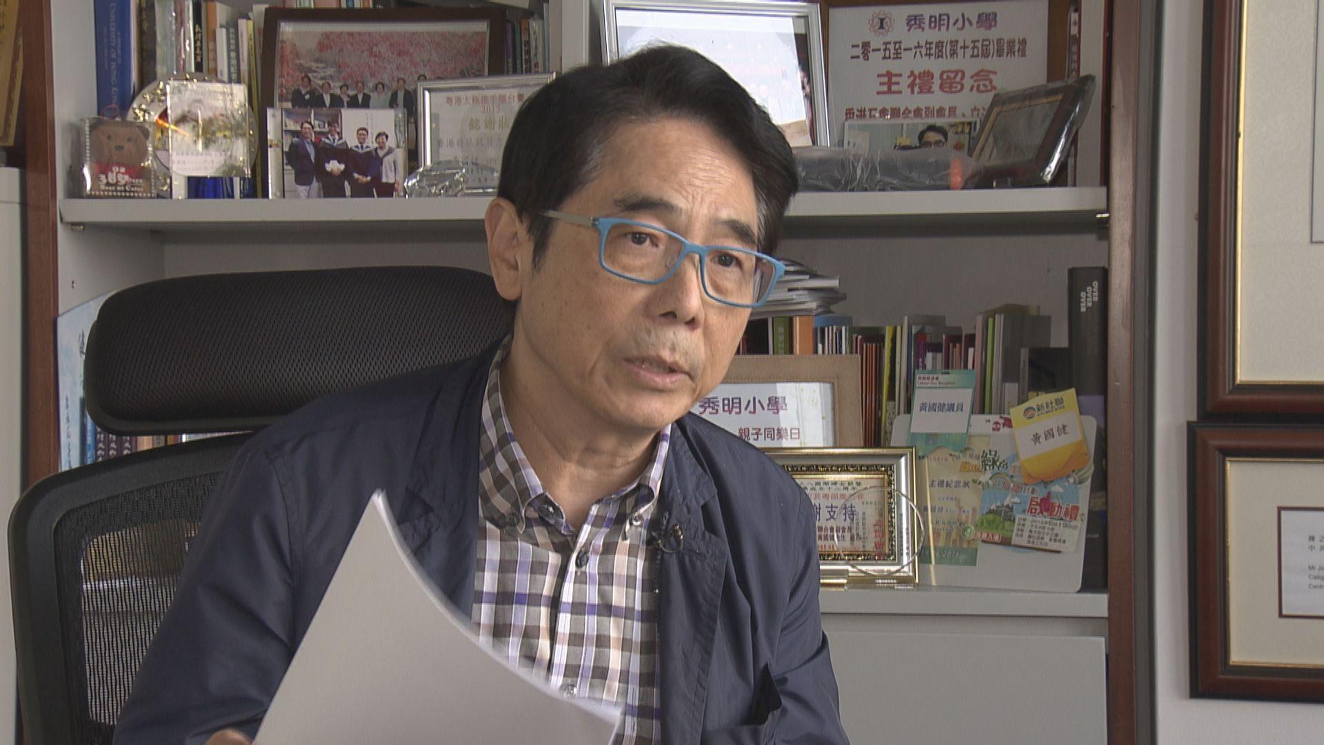 黃國健:區議會117席特首選委有機會取消