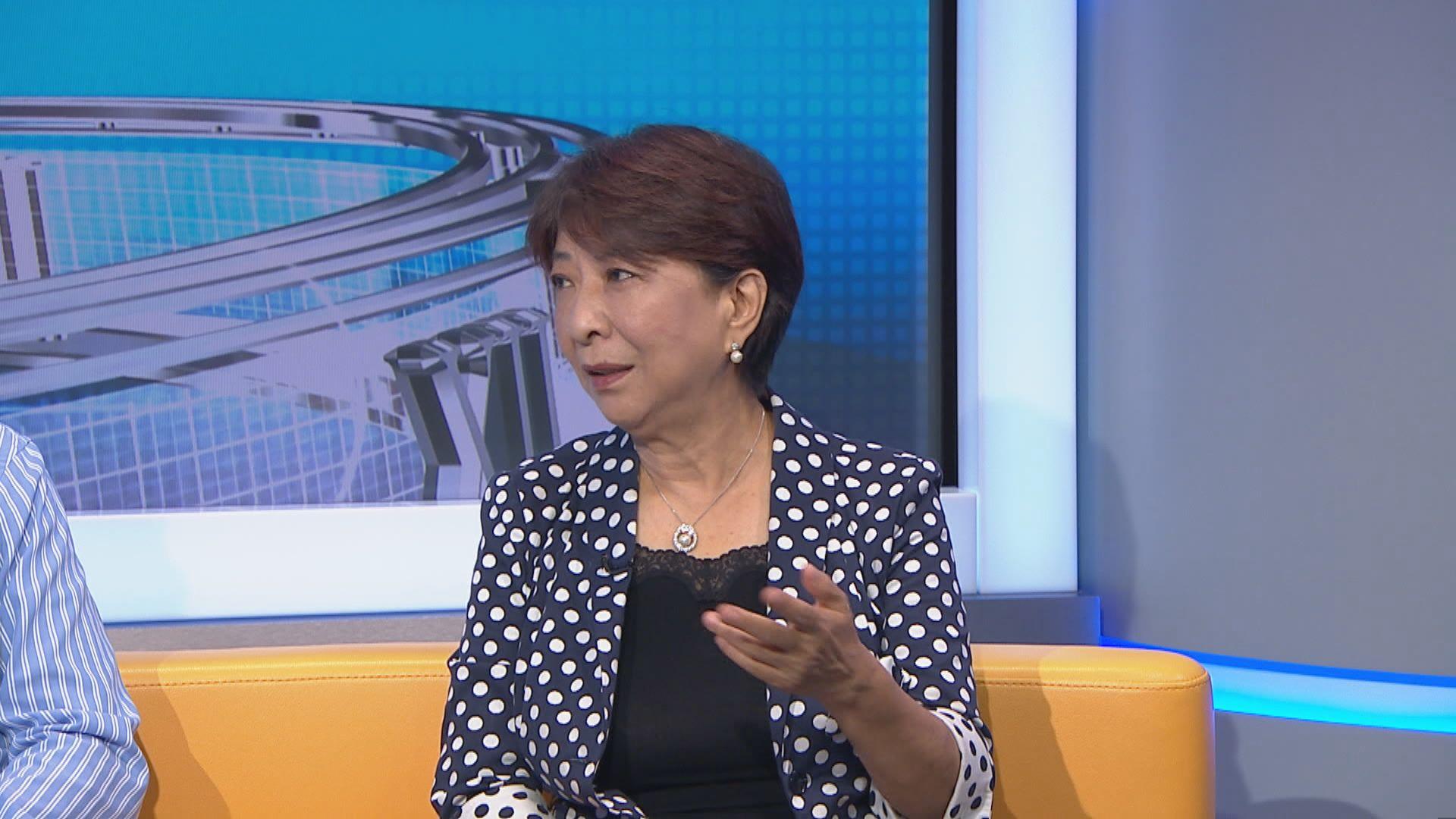 蔣麗芸:舉行對話但不回應訴求只會適得其反