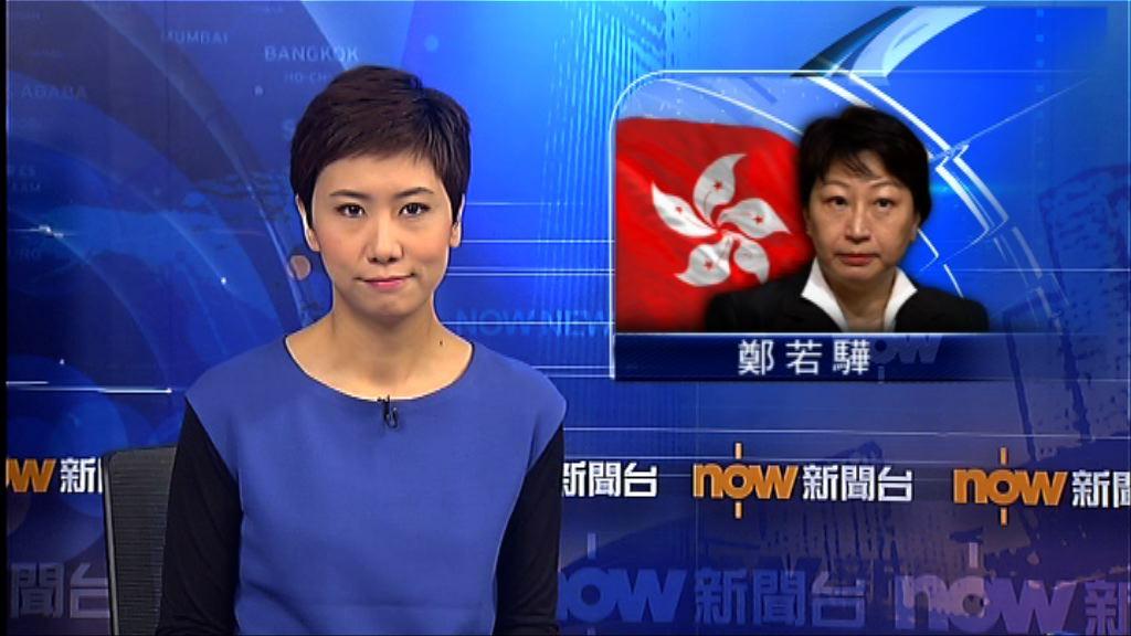 謝偉俊:未決定是否支持傳召鄭若驊動議