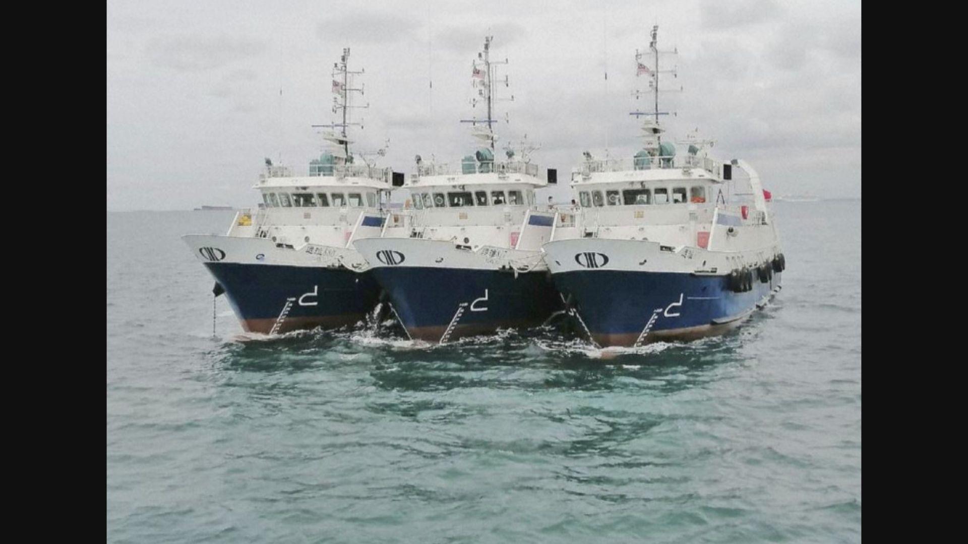 馬來西亞拘60中國人及扣查漁船
