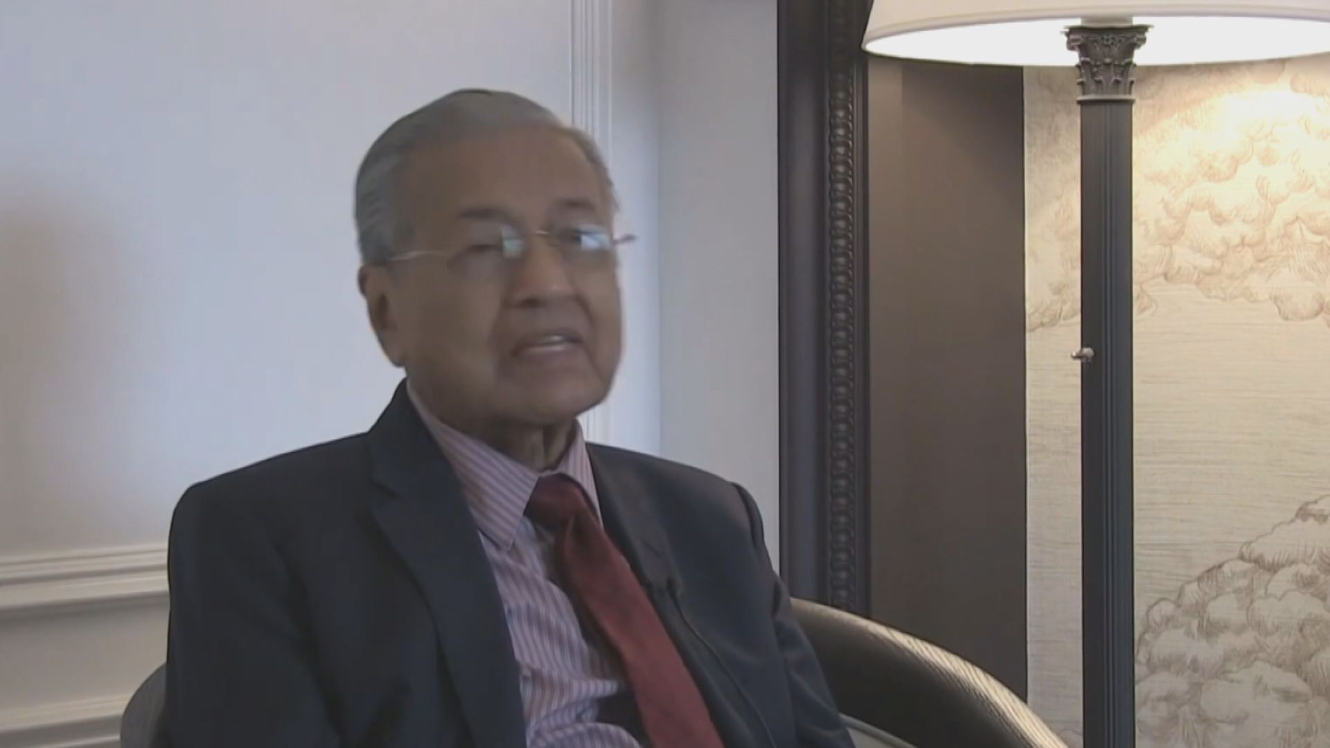 馬哈蒂爾稱無意與中國對抗