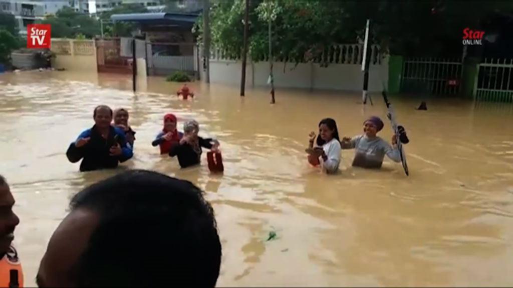 檳城暴雨成災 增至最少五人死亡