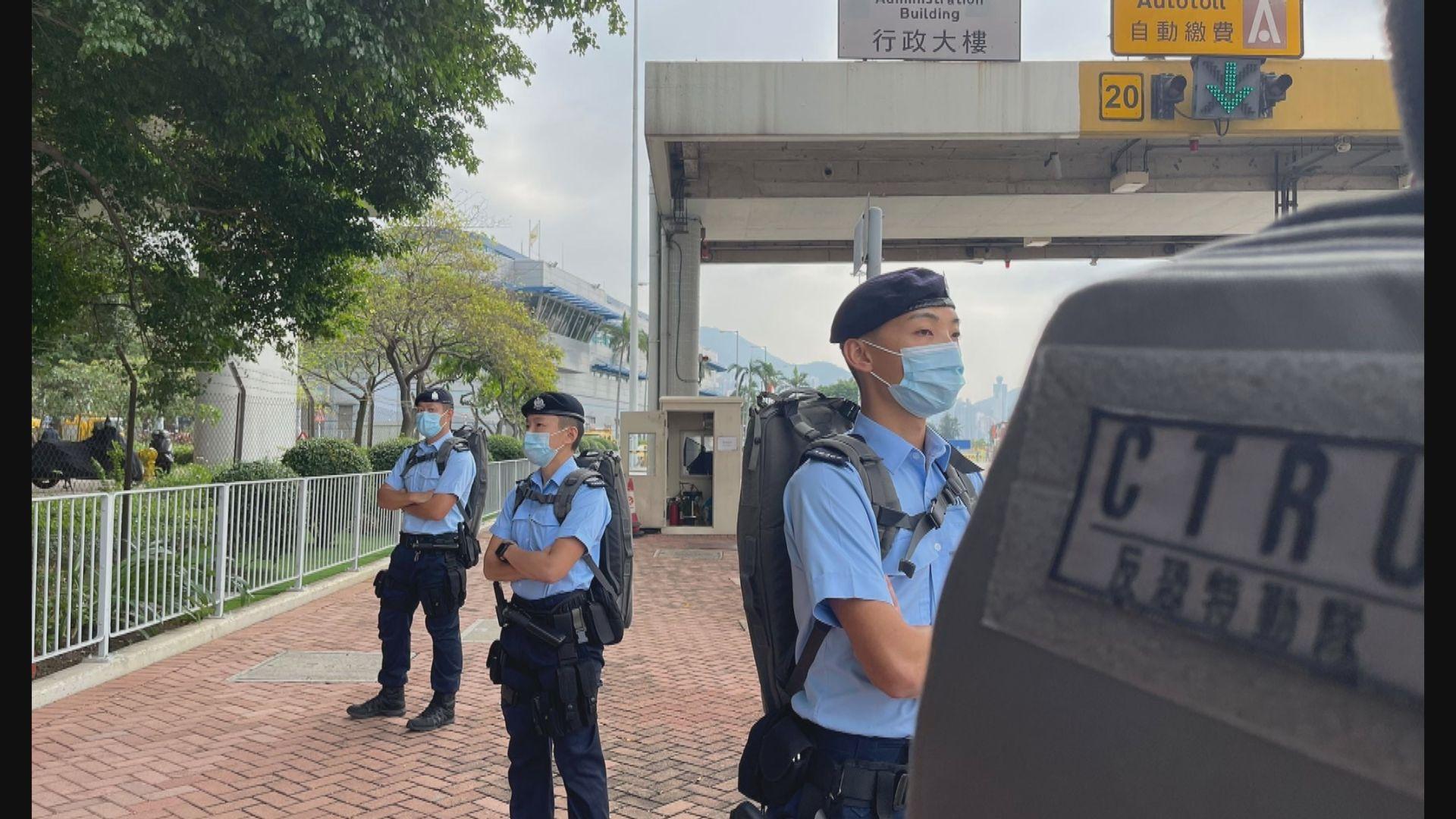 警方稱馬拉松當天有違法情況或在現場取證及跟進