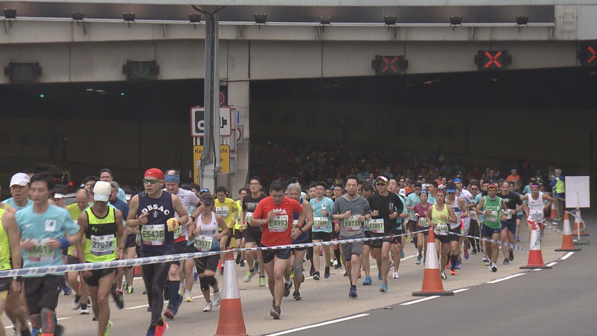 香港馬拉松明天舉行 多區今晚起分階段封路