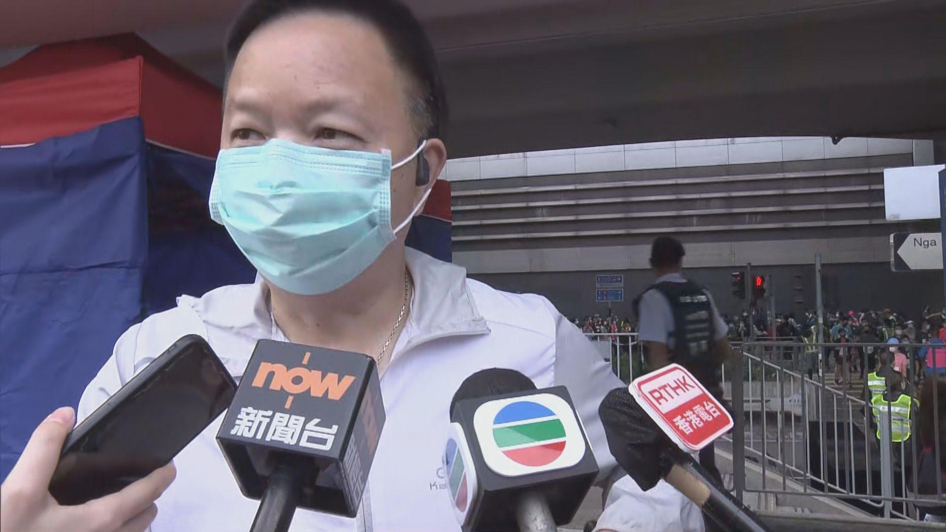 身穿「香港」衣服跑手被大會要求更換衣服