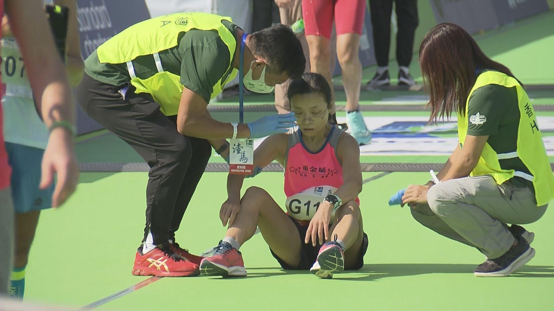 香港馬拉松賽事期間9人不適送院