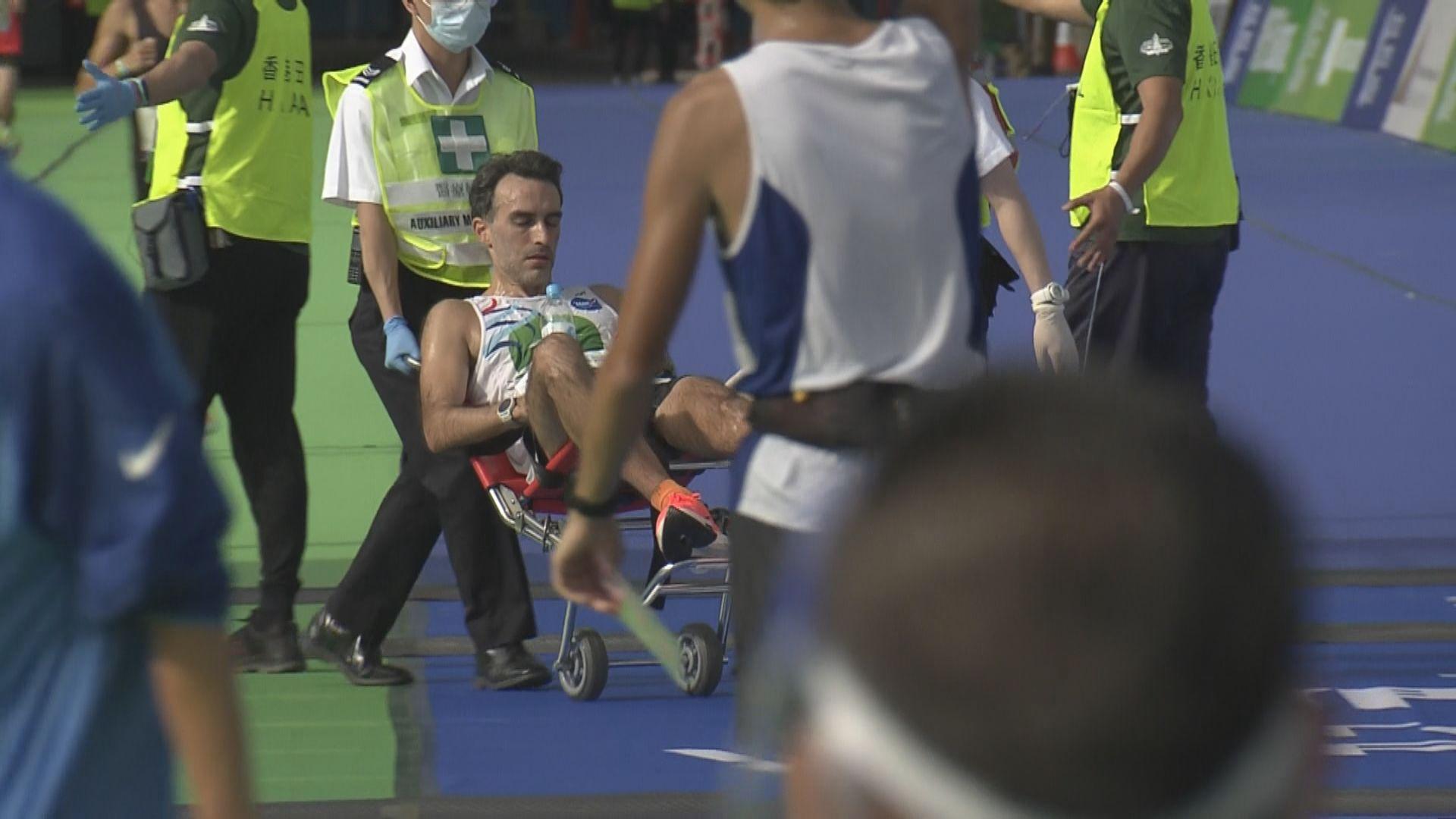 馬拉松賽事期間10人不適送院1人危殆