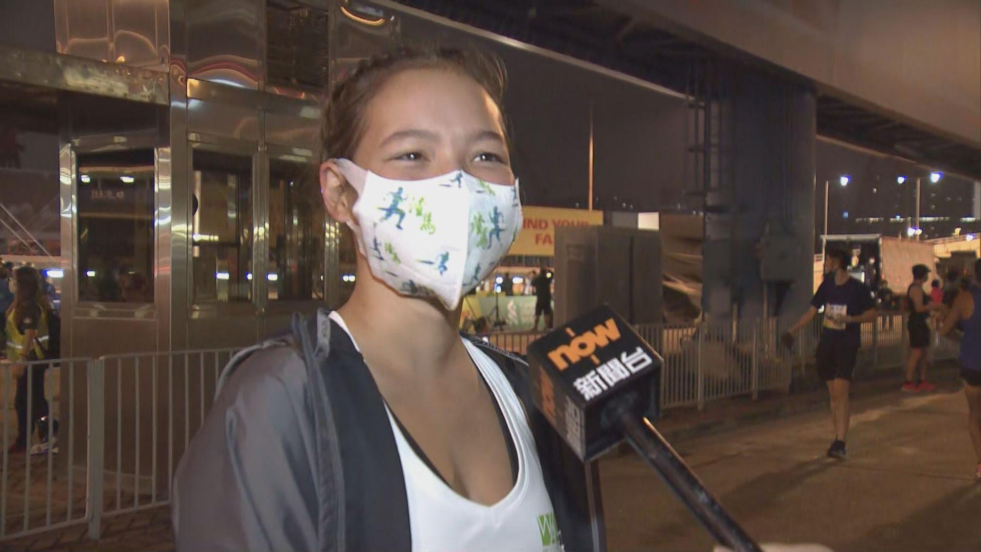 香港馬拉松復辦 參賽者感興奮稱不計較成績