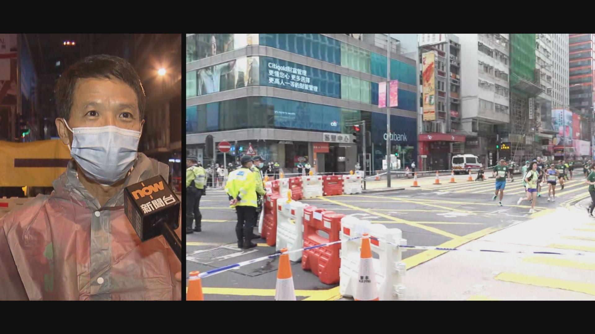 香港馬拉松復辦 所有賽事經西隧 有參賽者感吃力