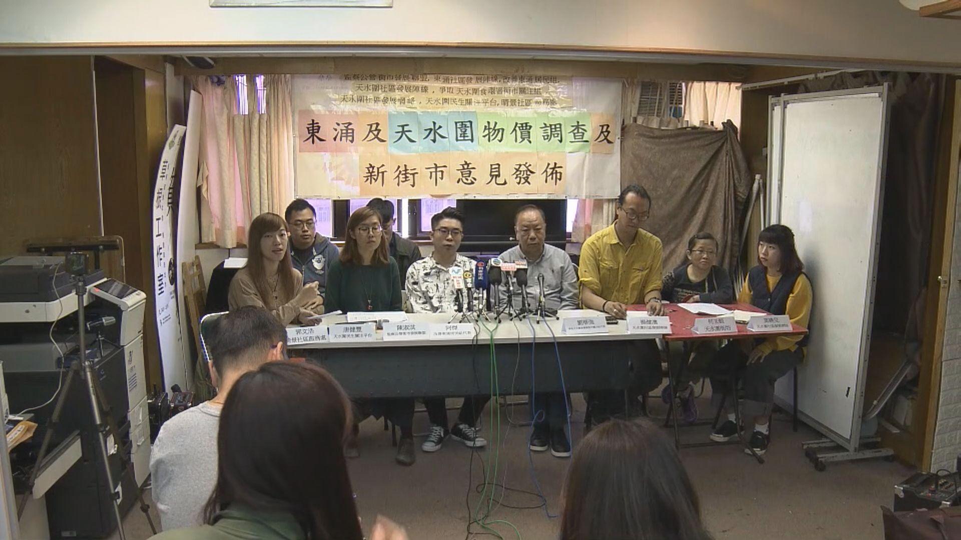 調查:九成受訪東涌天水圍居民認為買餸貴