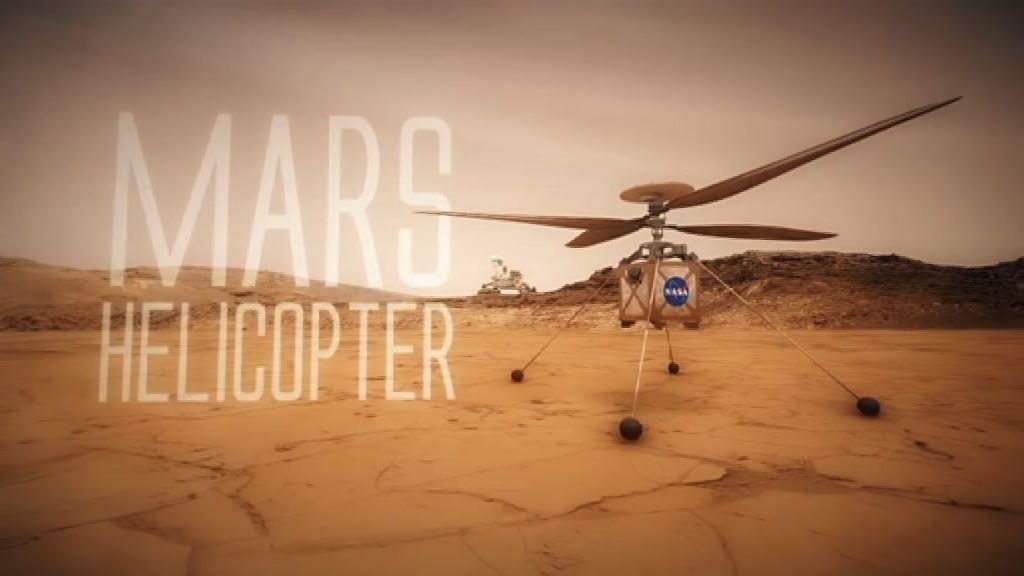 美國太空總署擬2020年送直升機到火星