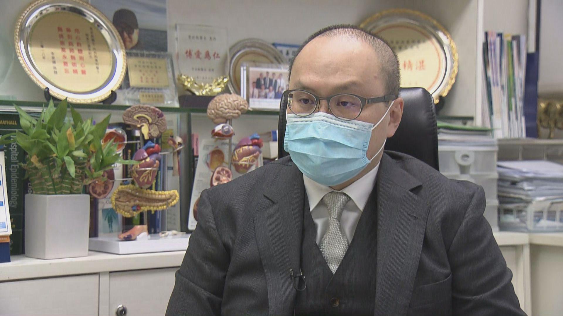 傳染病專科醫生指口罩不宜重用
