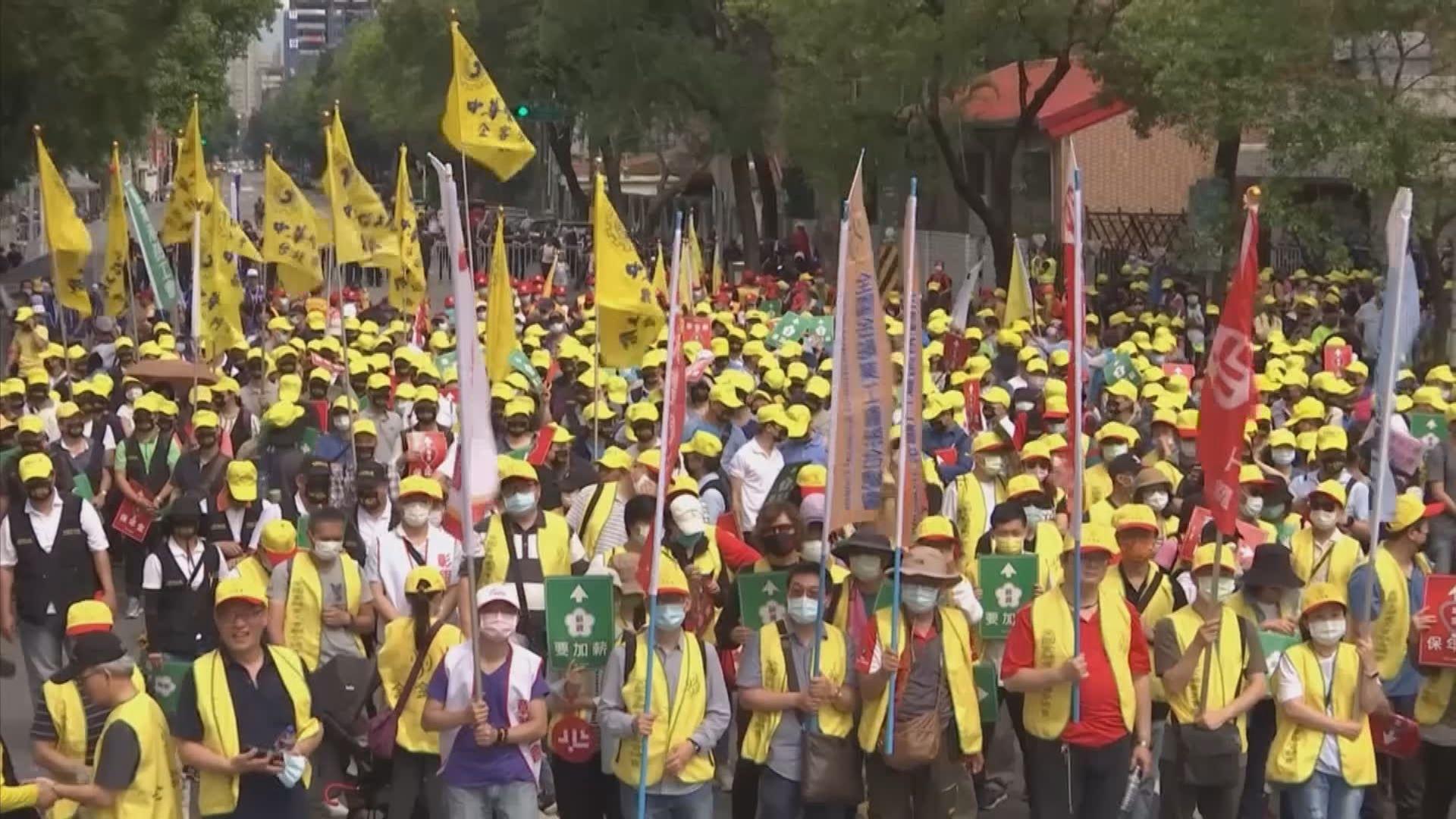 全球多地趁勞動節示威爭取工人權益