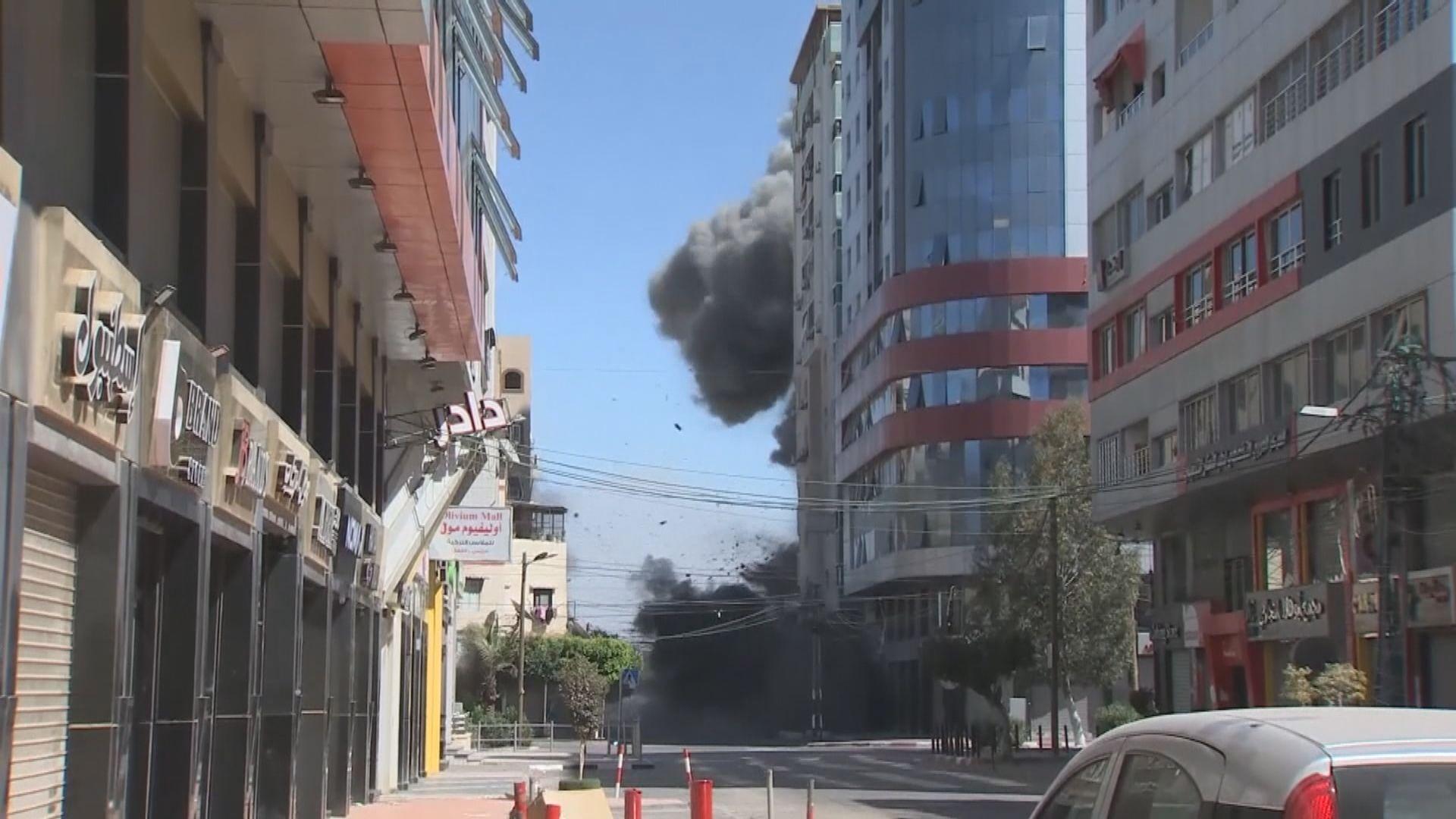 拜登與巴勒斯坦自治政府主席通電話 強調哈馬斯須停發射火箭炮