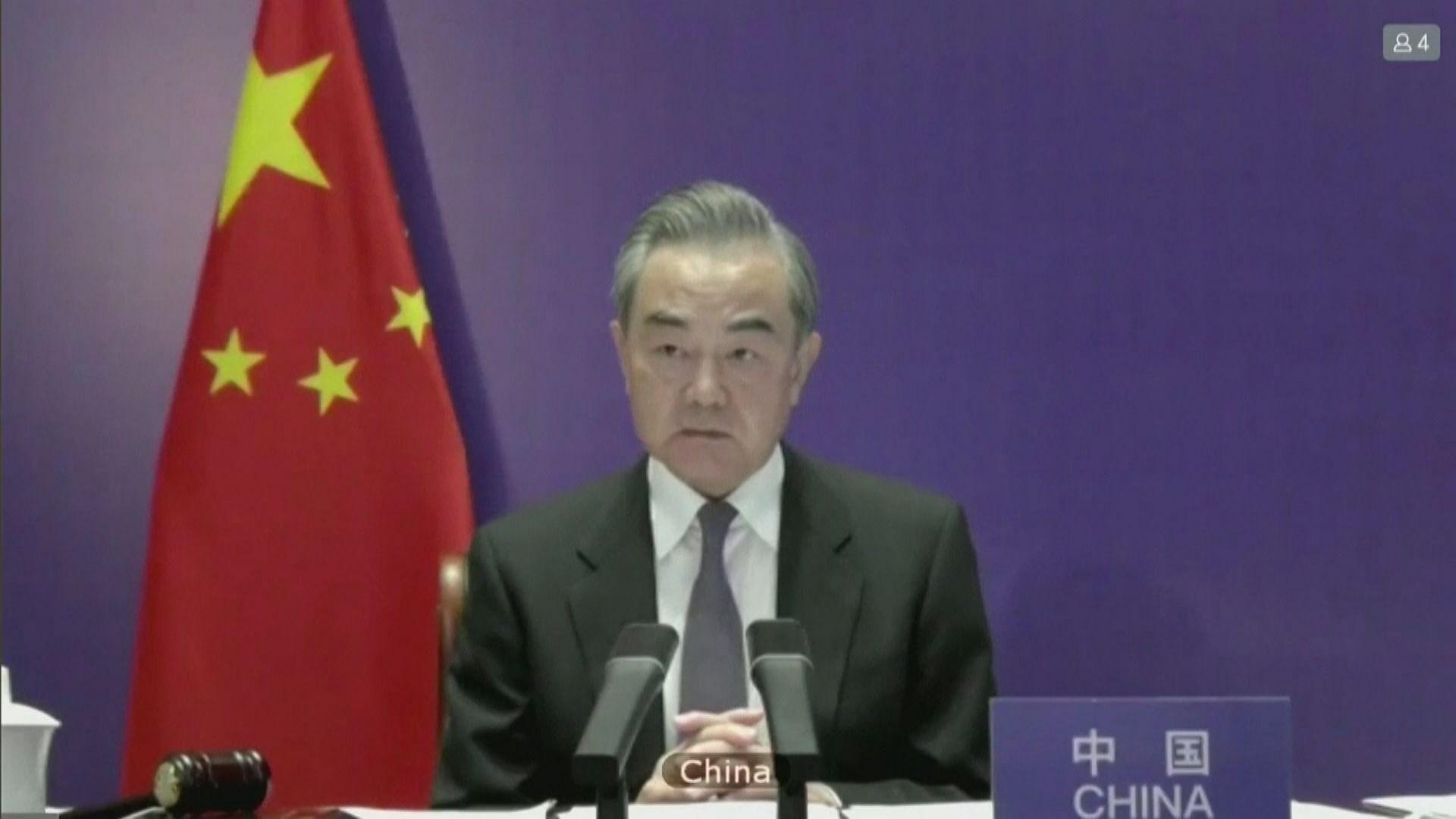 王毅不點名批評有國家阻撓緩和以巴局勢