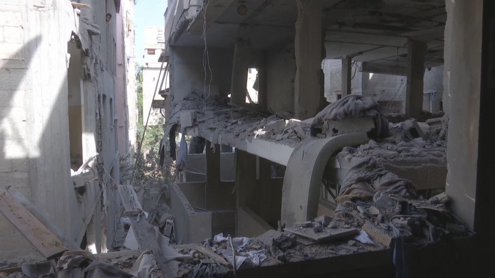 以色列繼續空襲加沙地區 摧毀哈馬斯軍用地下隧道