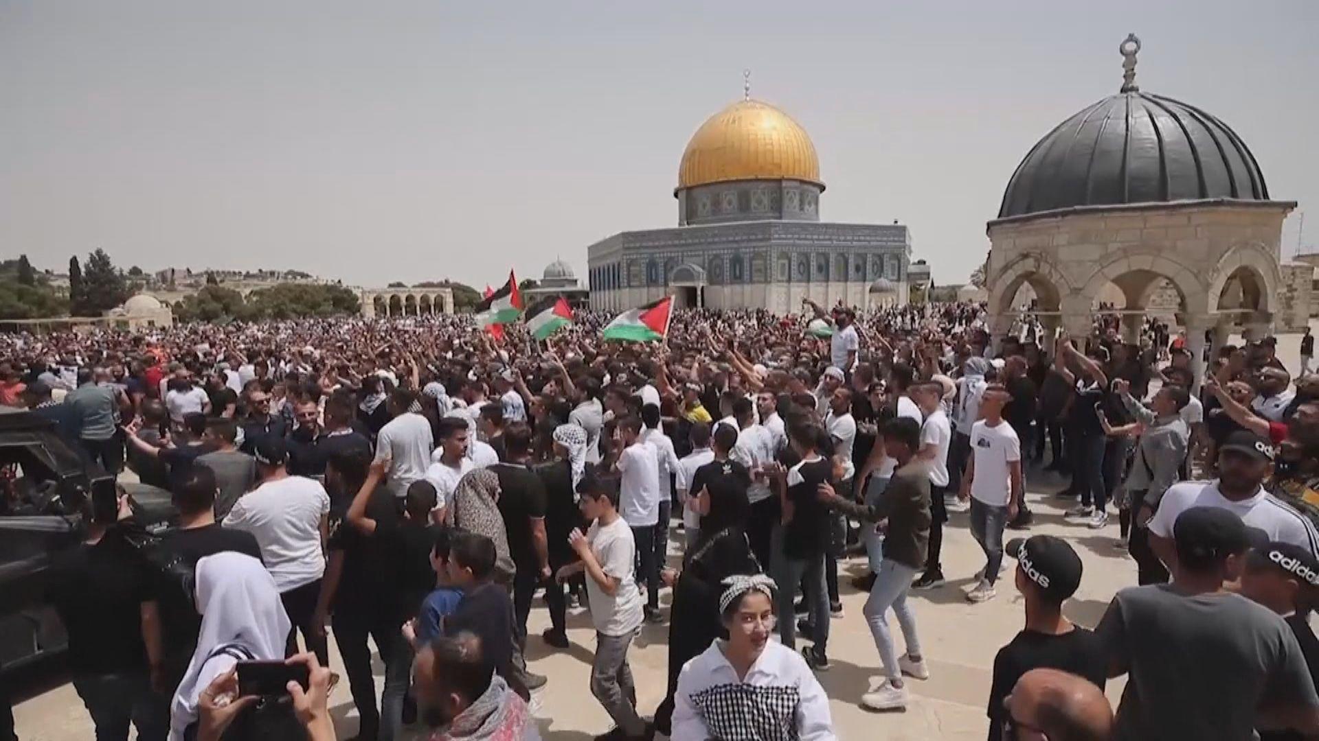 以巴停火後未見戰火 惟以色列軍警與巴人再爆衝突