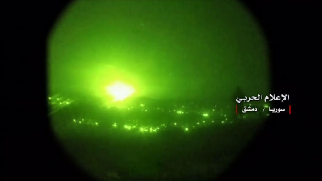 以色列向伊朗軍事目標發射導彈還擊