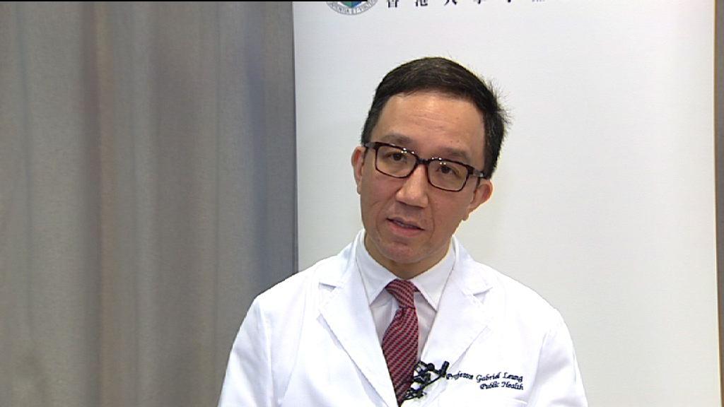 梁卓偉:港大會盡力配合增加醫護學額
