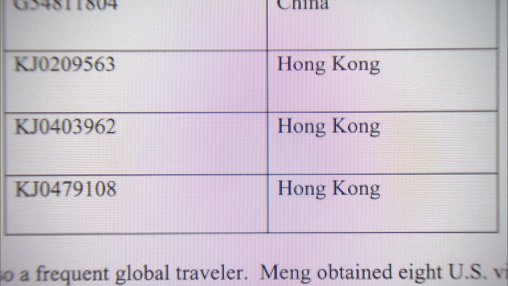 葉劉淑儀:無資料證明孟晚舟持特區護照情況違法