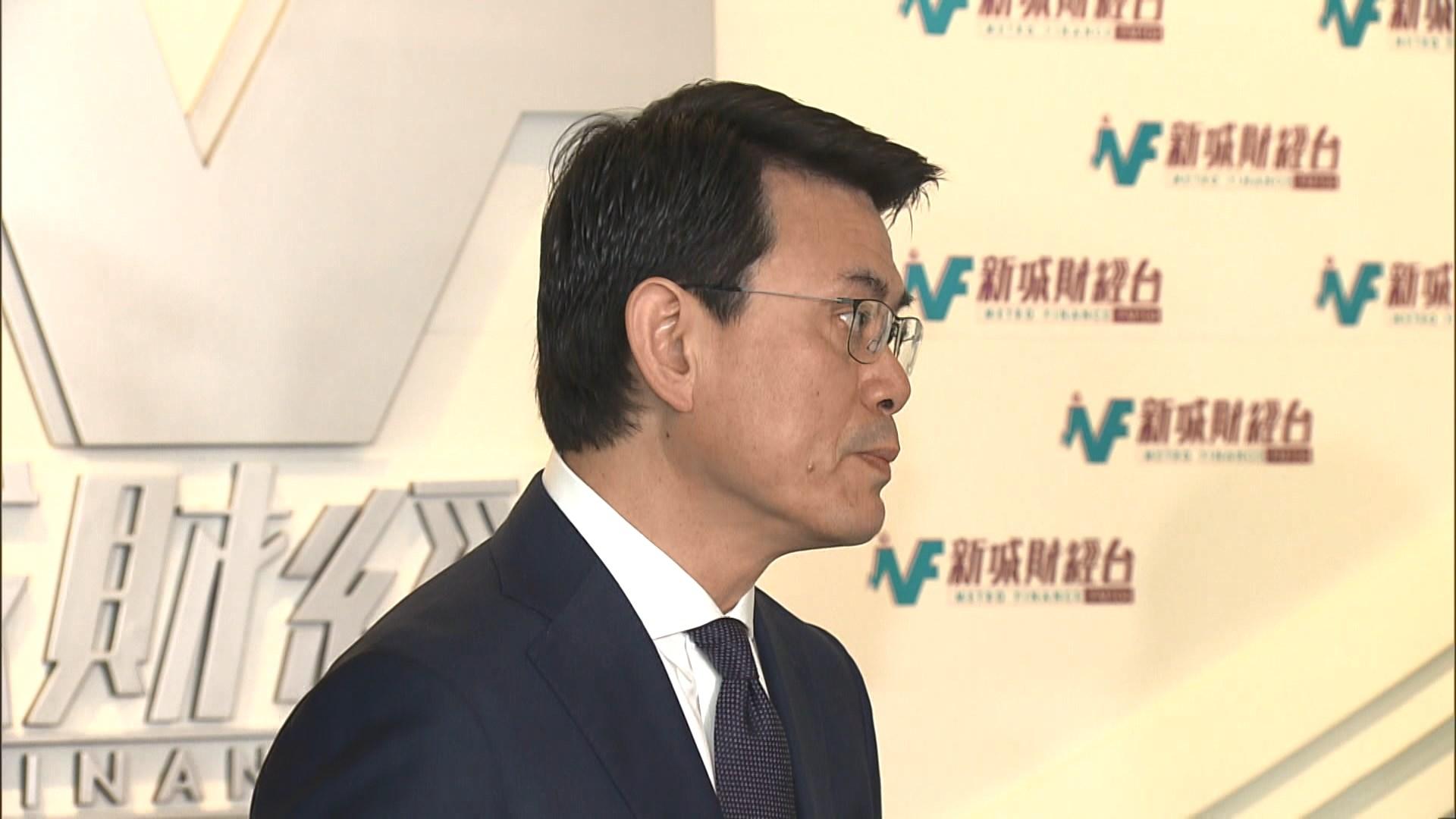 邱騰華:盼社會給予空間讓政府繼續做好工作