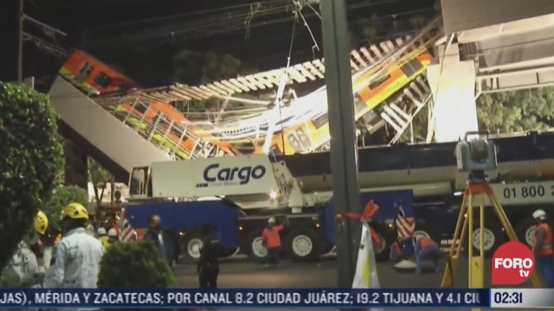 墨西哥城地鐵列車高處墮下 增至23死數十傷