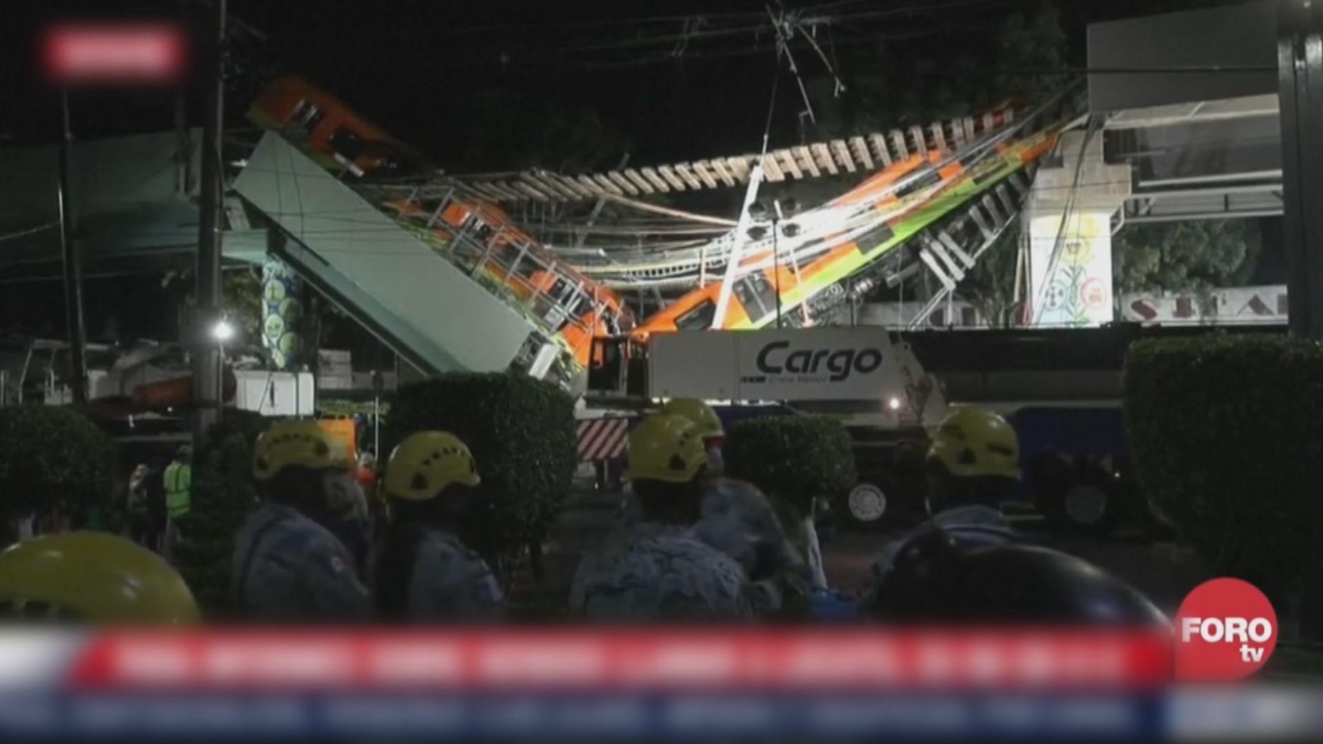 墨西哥城地鐵列車墮下事故增至24人死亡